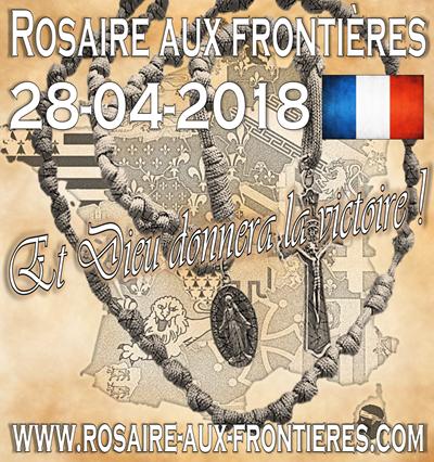 Rosaire aux frontières28/04/2018