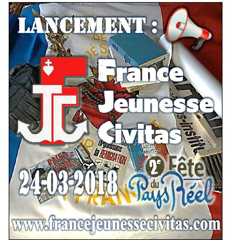 Lancement officiel de France JeunesseCivitas