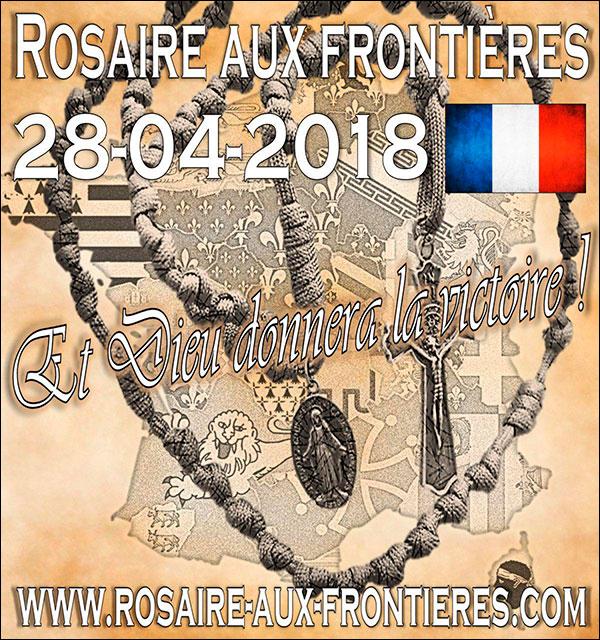 Samedi, c'est Rosaire aux Frontières partout enFrance